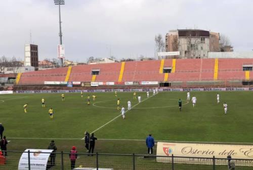 Calcio LegaPro, Fermana: sconfitta di misura a Mantova. Giallorossi in 10 dopo pochi minuti di gara
