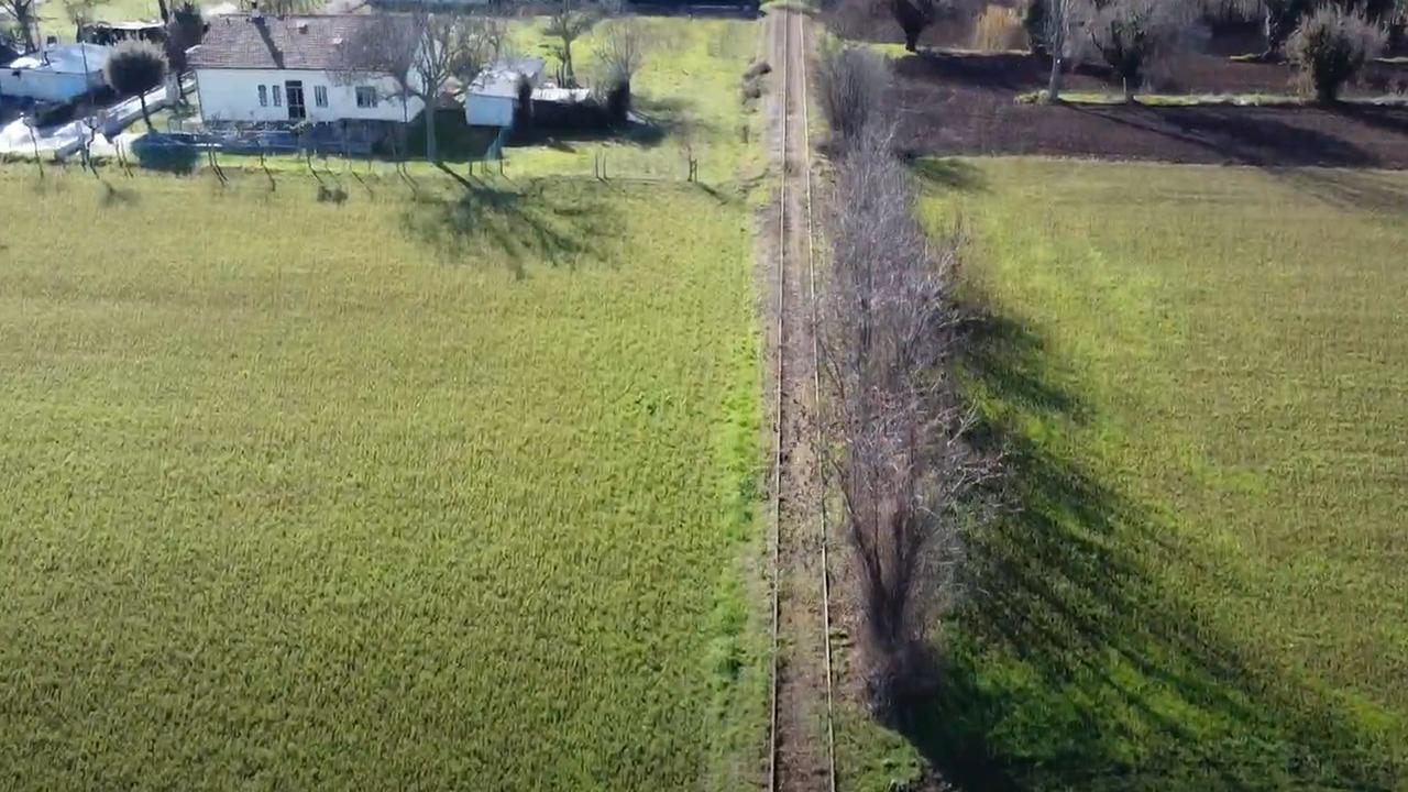Il percorso della nuova Ciclovia Ex ferrovia Fano-Urbino