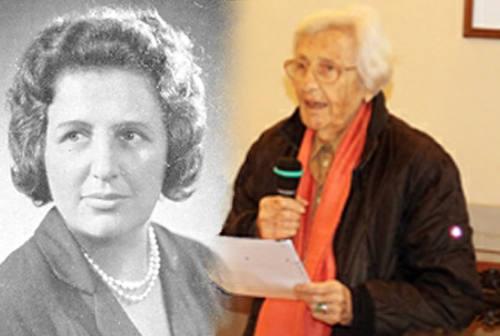 I 100 anni di Maria Lisa Cinciari Rodano, partigiana e parlamentare. Gli auguri anche da Trecastelli