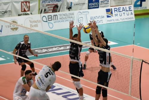 Volley A3, si ferma la Med Store Macerata nella tana del Motta di Livenza