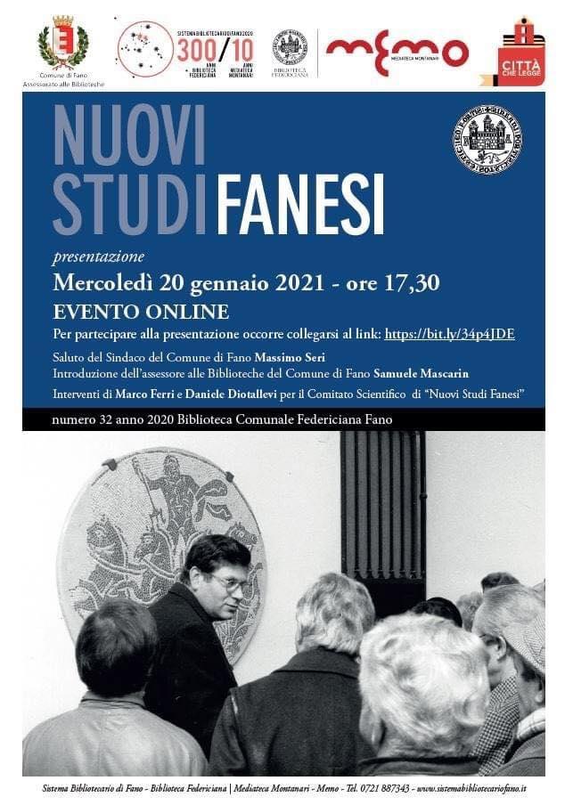 Nuovi studi fanesi dedicato a Franco Battistelli