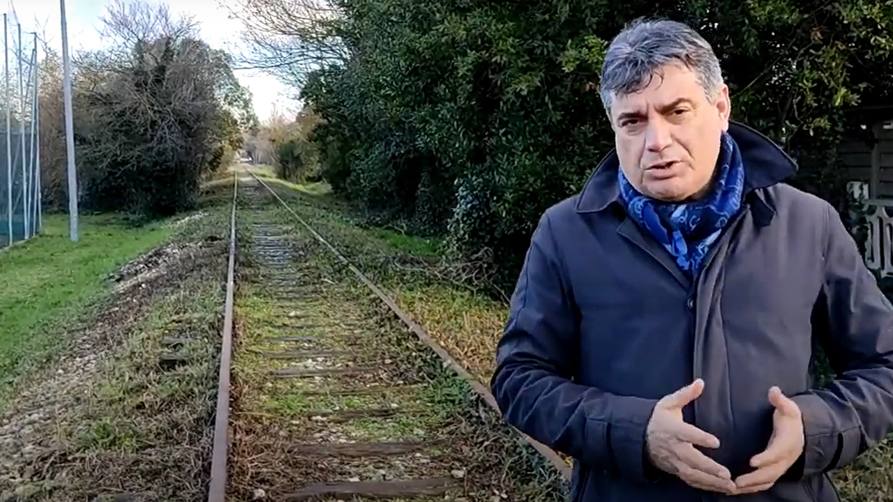 Seri sul tratto della Ciclovia Ex ferrovia Fano-Urbino