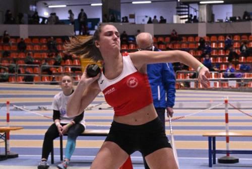 Peso: Sofia Coppari perfeziona il record regionale Allieve