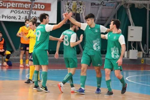Futsal, il Cus Ancona piega il Grottaccia e vola in classifica