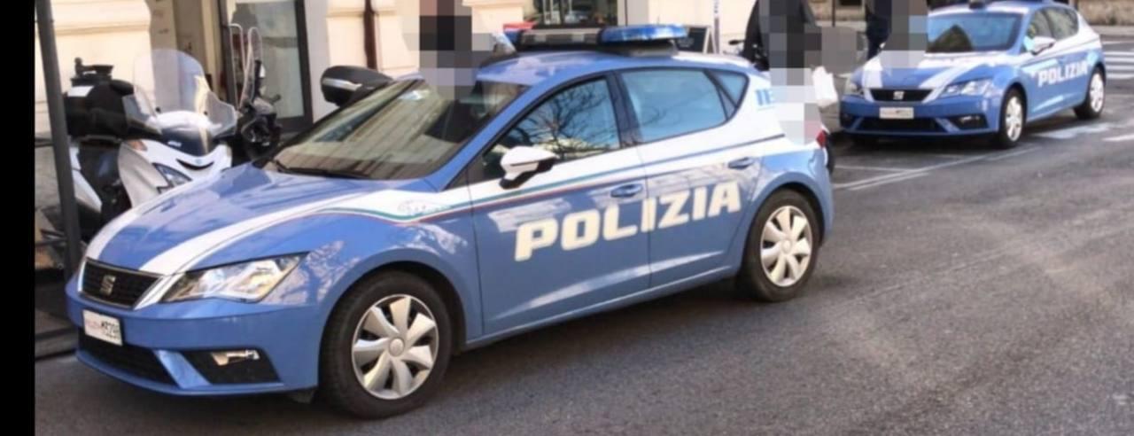 Le pattuglie della polizia di Stato