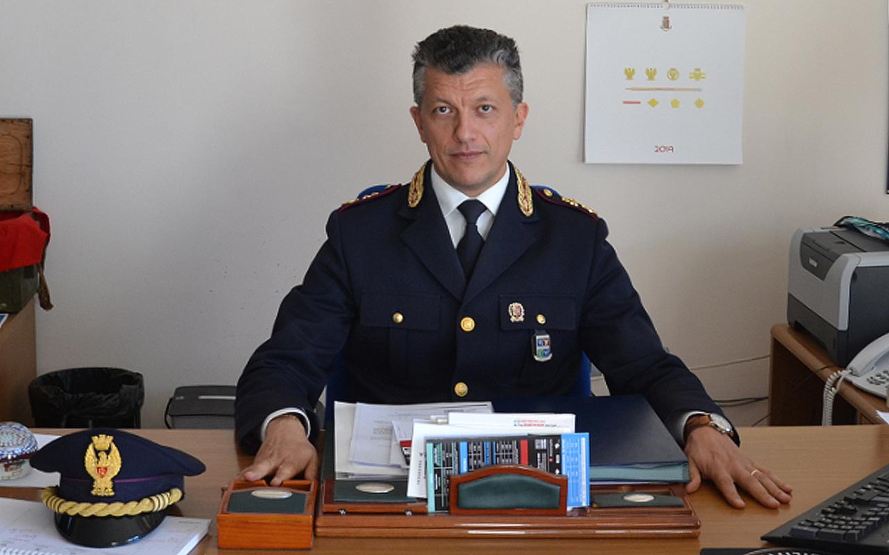 Il dirigente del commissariato di pubblica sicurezza di Senigallia, il vicequestore aggiunto Agostino Maurizio Licari
