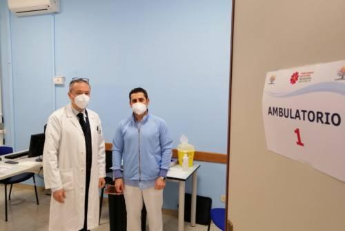 Pesaro, vaccinato oltre l'80% del personale Marche Nord e Asur