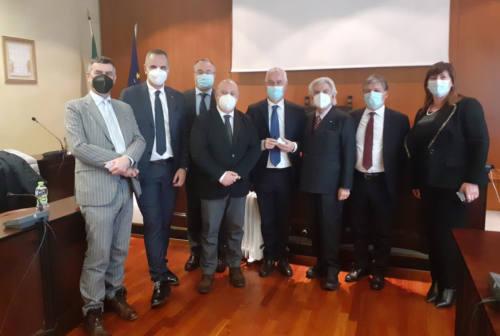 Camera Marche incontra i vertici di Bper Banca: «C'è bisogno di un'istituzione bancaria solida»
