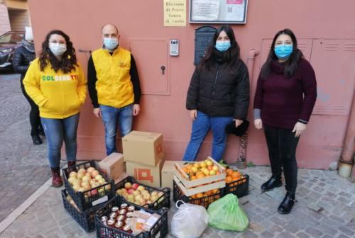 Pesaro, Coldiretti dona un quintale di cibo a chilometri zero alla Caritas