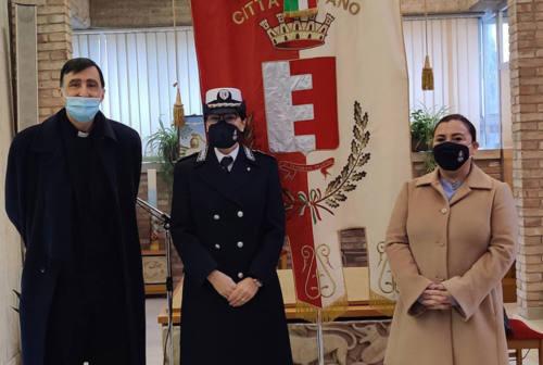 Fano, celebrato San Sebastiano patrono della Polizia. Cucchiarini: «Un plauso a tutte le forze dell'ordine»
