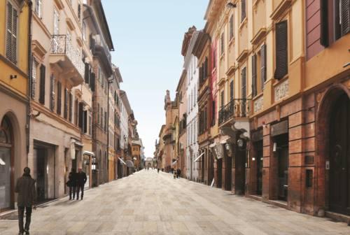 Jesi, restyling di Corso Matteotti: operai pronti ad avviare i lavori