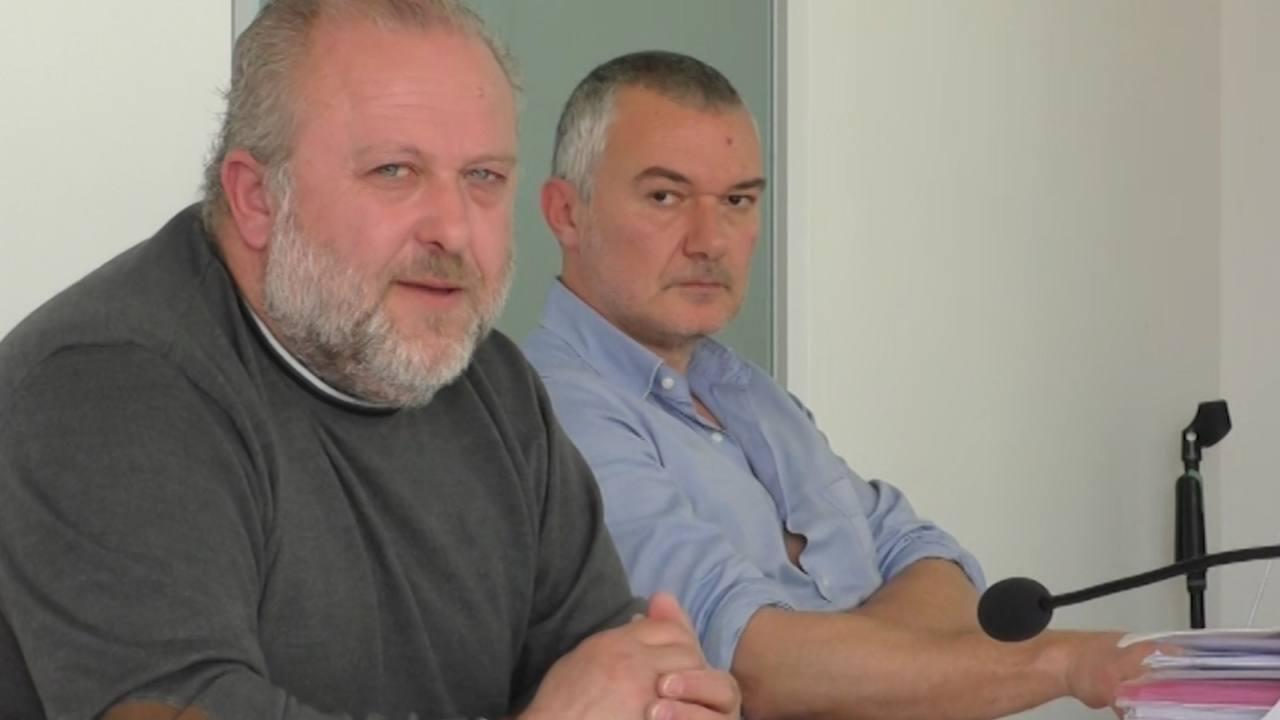 Cgil Macerata, Massimo De Luca e Daniel Taddei