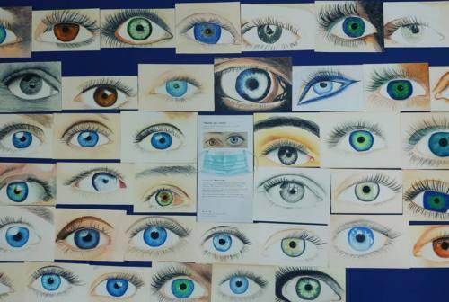"""""""Dentro gli occhi"""", così gli studenti di Filottrano guardano la pandemia"""