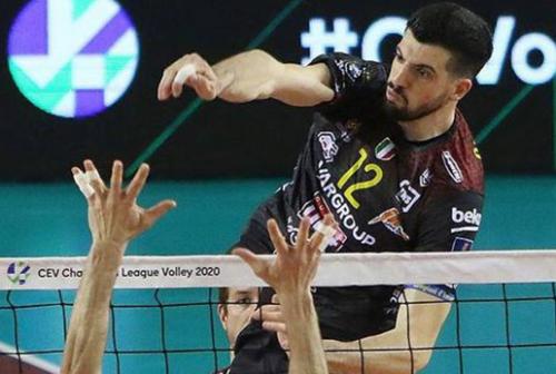 Volley, la Cucine Lube spegne la Gas Sales Piacenza e accorcia su Perugia