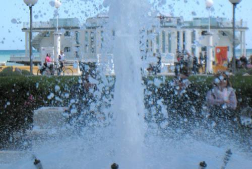 Senigallia, il restyling della fontana della rotonda costa 53 mila euro