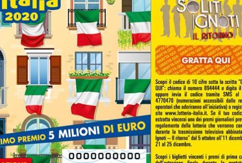 Altri due premi della Lotteria Italia a Fano e Mondolfo