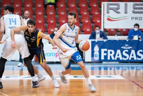 Basket, Ristoro Fabriano, clamoroso ko interno con la Sutor Montegranaro