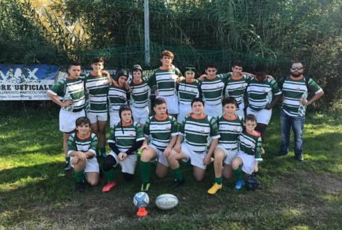 Rugby Jesi, tutta la voglia di crescere degli Under 14: «Da loro la spinta giusta»
