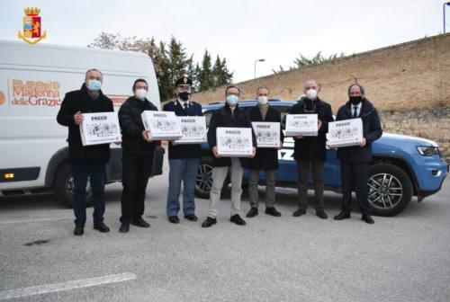 Ascoli, all'Emporio Caritas pacchi alimentari dai beni confiscati alla Camorra