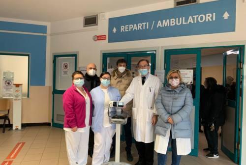 Pesaro, l'associazione Renatoè dona un macchinario per la pediatria