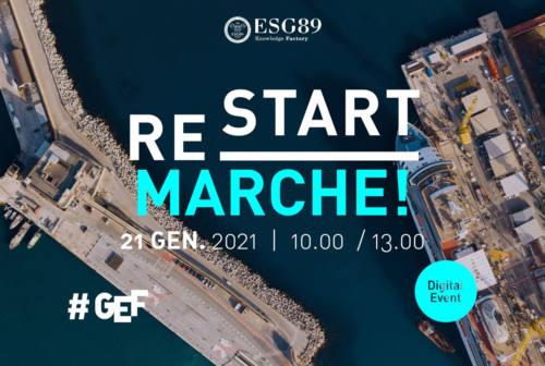 Global Economic Forum Restart Marche, Sabatini: «Bisogna essere audaci e pensare fuori dagli schemi»