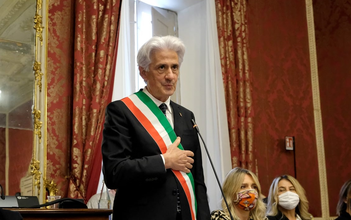 Macerata, il sindaco Sandro Parcaroli