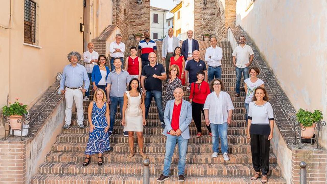 I componenti della lista civica Vola Senigallia