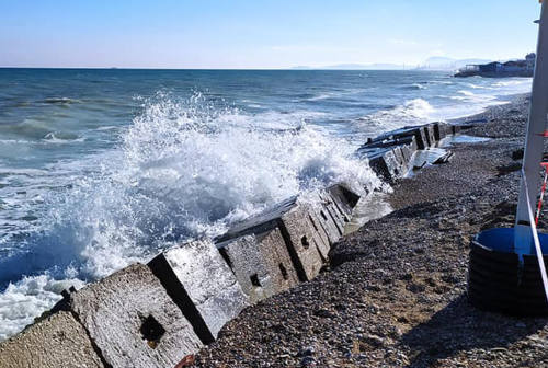 Interrogazione in Regione sull'erosione costiera a Marina di Montemarciano