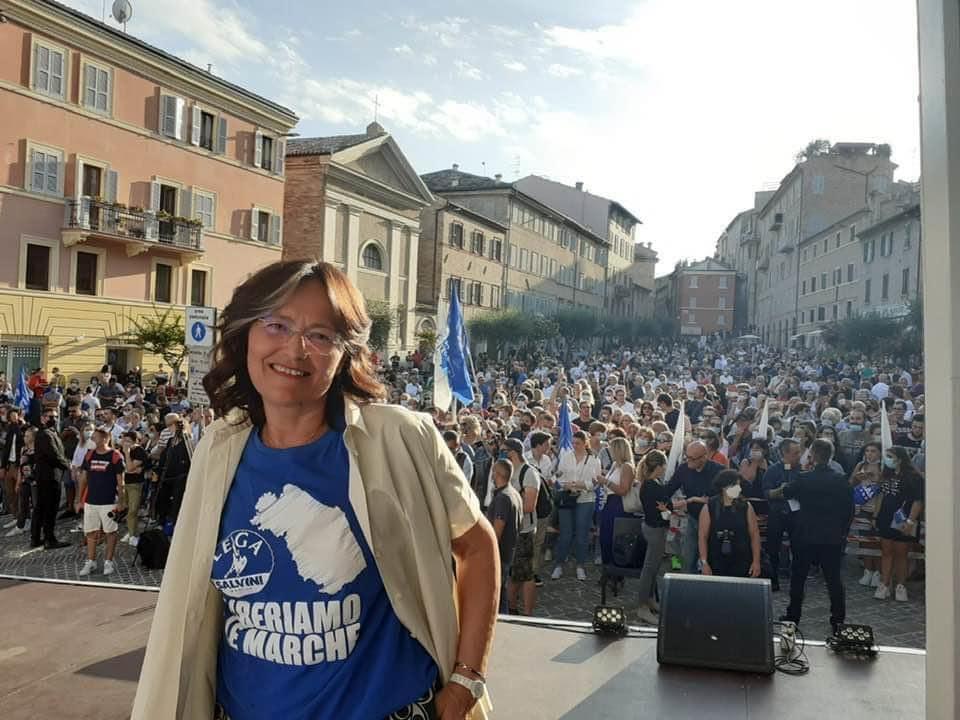 La consigliera regionale Anna Menghi
