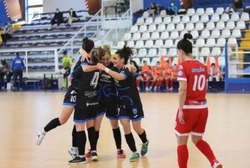 Futsal Femminile, non si fanno male Città di Falconara e Montesilvano