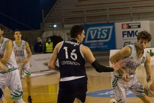 Basket, un Campetto Ancona prolifico e generoso si  prende il derby con Civitanova