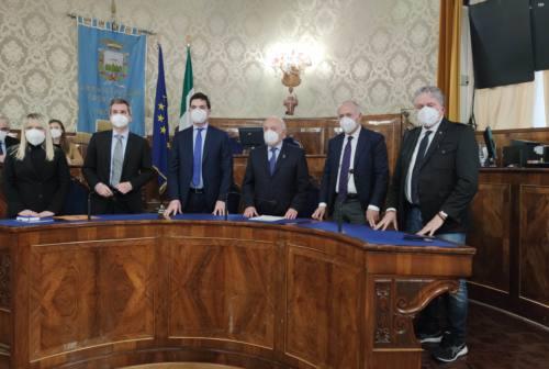 Tolentino – San Severino, firmato il protocollo per l'intervalliva. «Giornata storica»