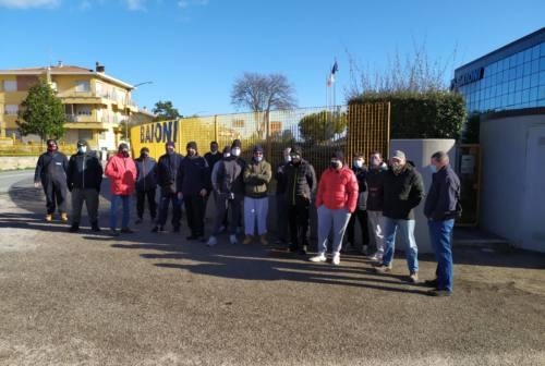 Monte Porzio, sciopero alla Baioni Crushing Plants. Fiom: «Non barattiamo la cassa integrazione»