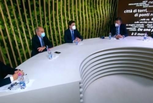 Uno studio tv per promuovere food e Made in Marche nel mondo. Acquaroli annuncia l'agenzia per il turismo