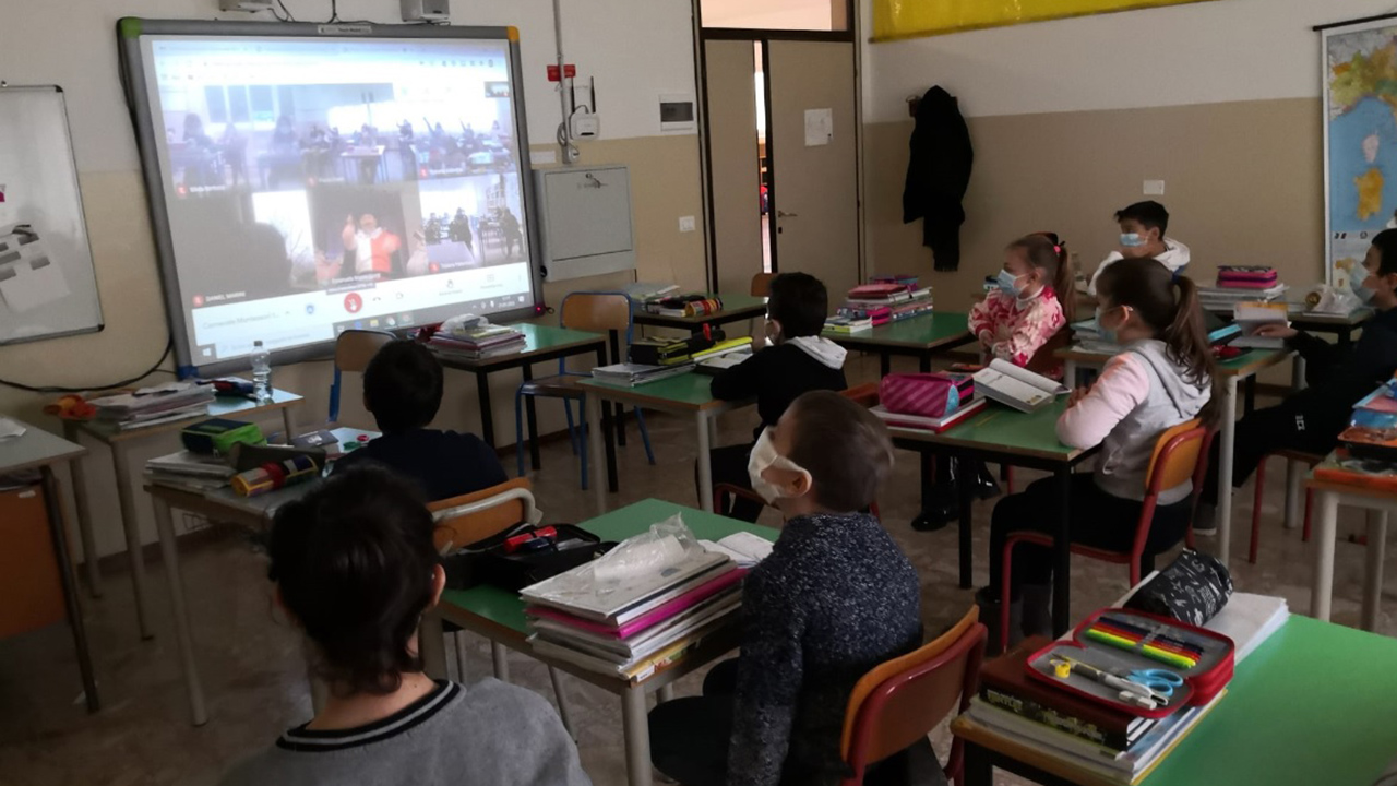 Il Carnevale a scuola come ponte tra Fano e la Francia