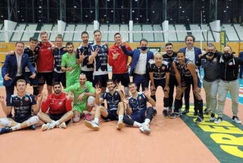 Volley A3, Med Store Macerata champagne anche nella tana di Bolzano