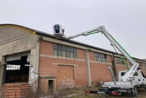 Montecassiano, amianto all'ex fornace: «Il Comune finanzierà gli accertamenti»