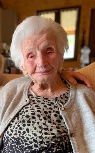 Fiastra, nonna Peppina