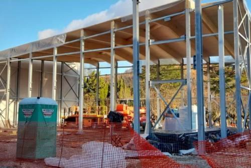 Pieve Torina, ricostruzione post-sisma: entro primavera il nuovo centro polifunzionale