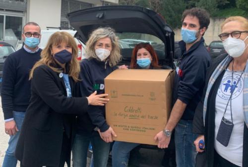 Coldiretti Ancona e Patronesse Salesi ancora in prima linea per la solidarietà