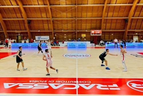 Basket, la Luciana Mosconi Ancona cede sul campo del Teramo a spicchi