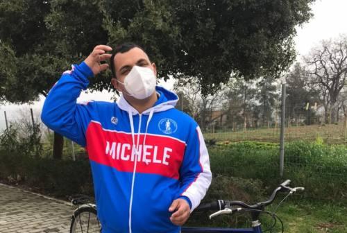 Una ciclofficina per Cristopher, a Filottrano, con la Fondazione Michele Scarponi