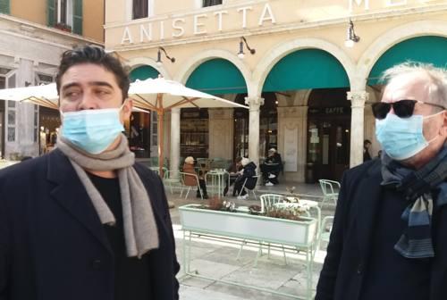 Scamarcio e Piccioni ad Ascoli studiano i set del nuovo film