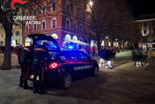 Ancona, violano il coprifuoco notturno: tre sanzioni dei carabinieri