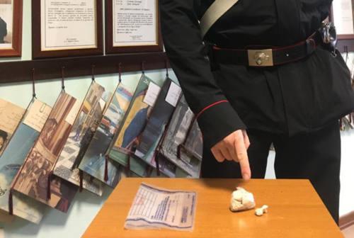 Urbino, l'eroina negli slip: arrestato 41enne