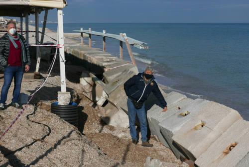 Montemarciano, problema erosione: «Danni anche senza mareggiate violente»