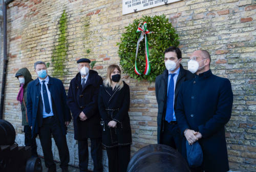 Al porto di Ancona la commemorazione per i martiri delle Foibe