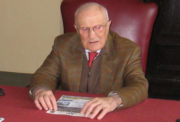 L'ex sindaco e parlamentare Giuseppe Orciari