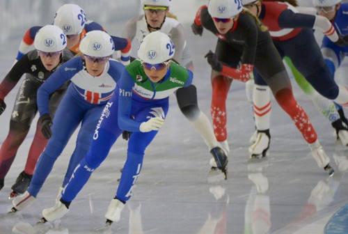 Pattinaggio su ghiaccio, la senigalliese Linda Rossi è tra le prime 5 atlete al mondo