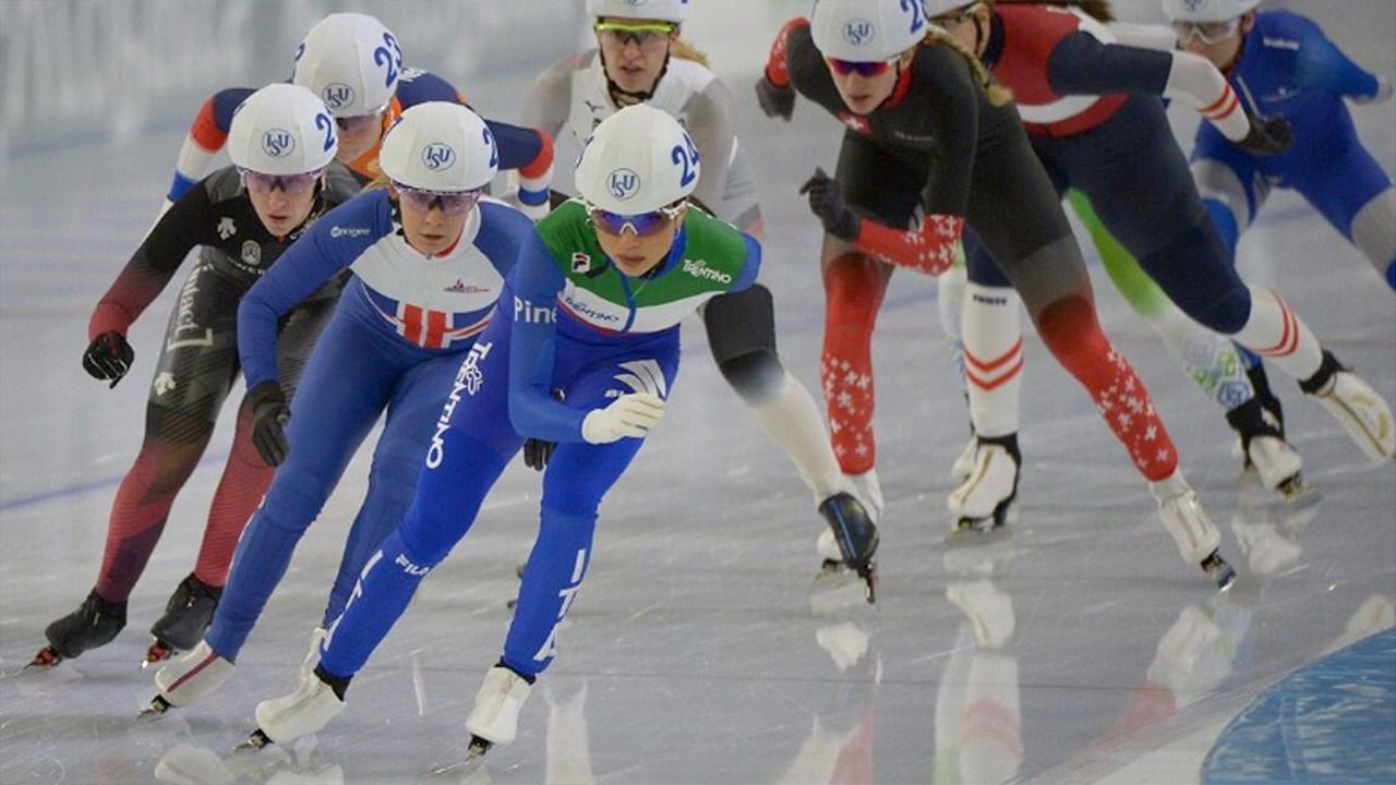Linda Rossi nella Top 5 Mondiale dopo il campionato del Mondo sul ghiaccio di Heerenven (Olanda)